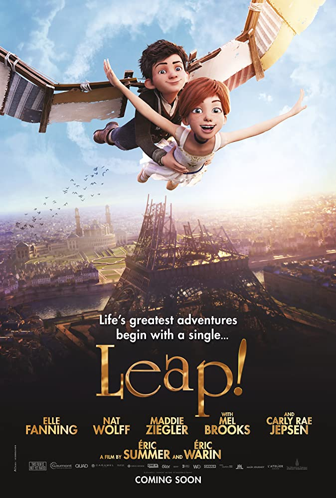 Leap! movie poster thumbnail link to detail view