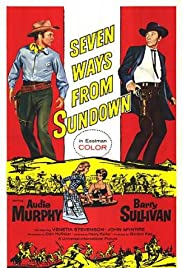 Seven Ways from Sundown (1960) Poster - Movie Forum, Cast, Reviews