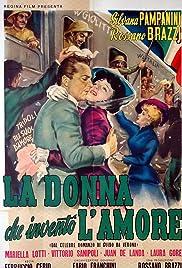 La donna che inventò l'amore Poster