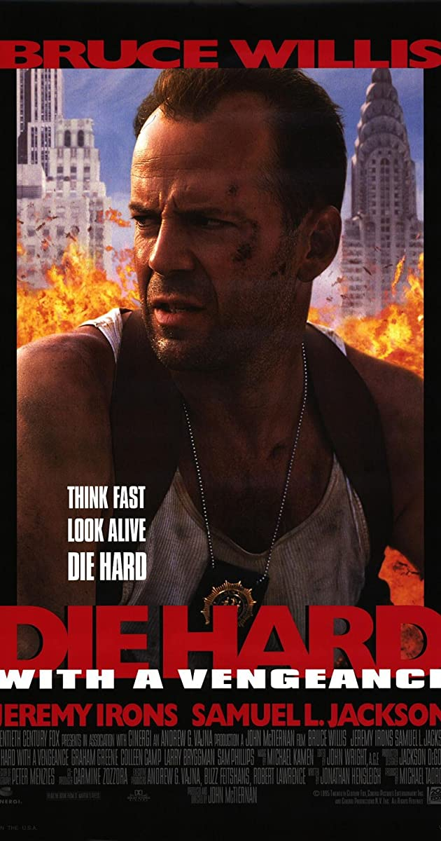 Die Hard 3: Die Hard with a Vengeance 1995