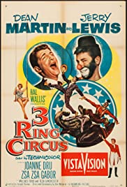 3 Ring Circus (1954) Poster - Movie Forum, Cast, Reviews