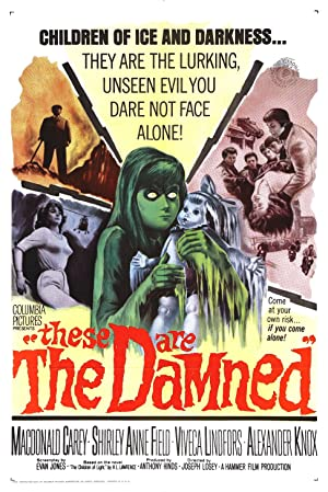 These Are the Damned poster