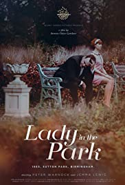 Lady in the Park Poster