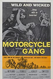 Motorcycle Gang Poster