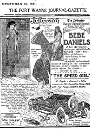 The Speed Girl Poster
