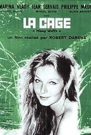La cage Poster