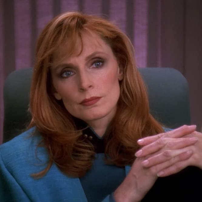 Gates McFadden in Star Trek: The Next Generation (1987)