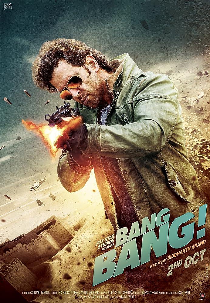 Bang Bang 2014 Hindi 720p BluRay 300MB Movies