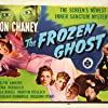 Lon Chaney Jr., Evelyn Ankers, Tala Birell, Martin Kosleck, and Elena Verdugo in The Frozen Ghost (1945)