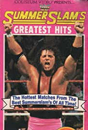 SummerSlam's Greatest Hits Poster
