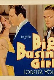 Big Business Girl Poster