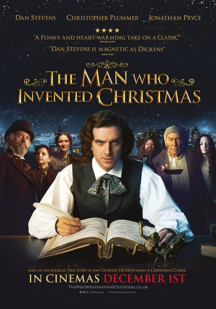 The Man Who Invented Christmas BluRay