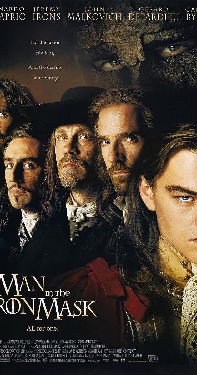 Žmogus su geležine kauke / The Man In The Iron Mask (1998) Online