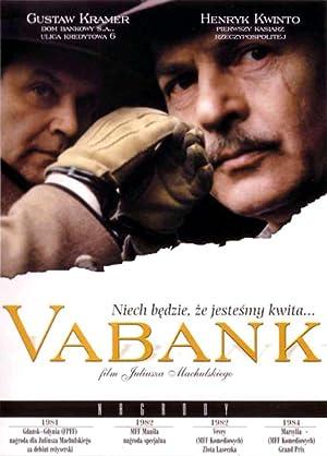 Vabank poster