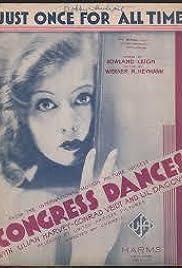 The Congress Dances Poster