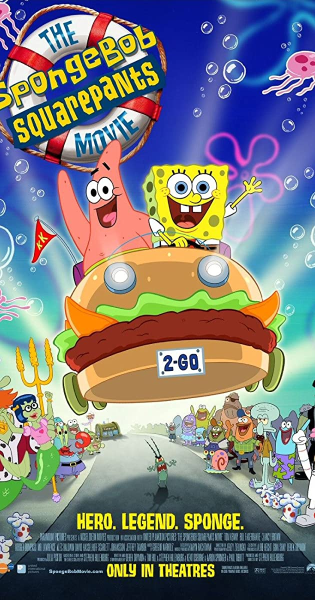 Kempiniukas Plačiakelnis / The SpongeBob SquarePants Movie (2004) online