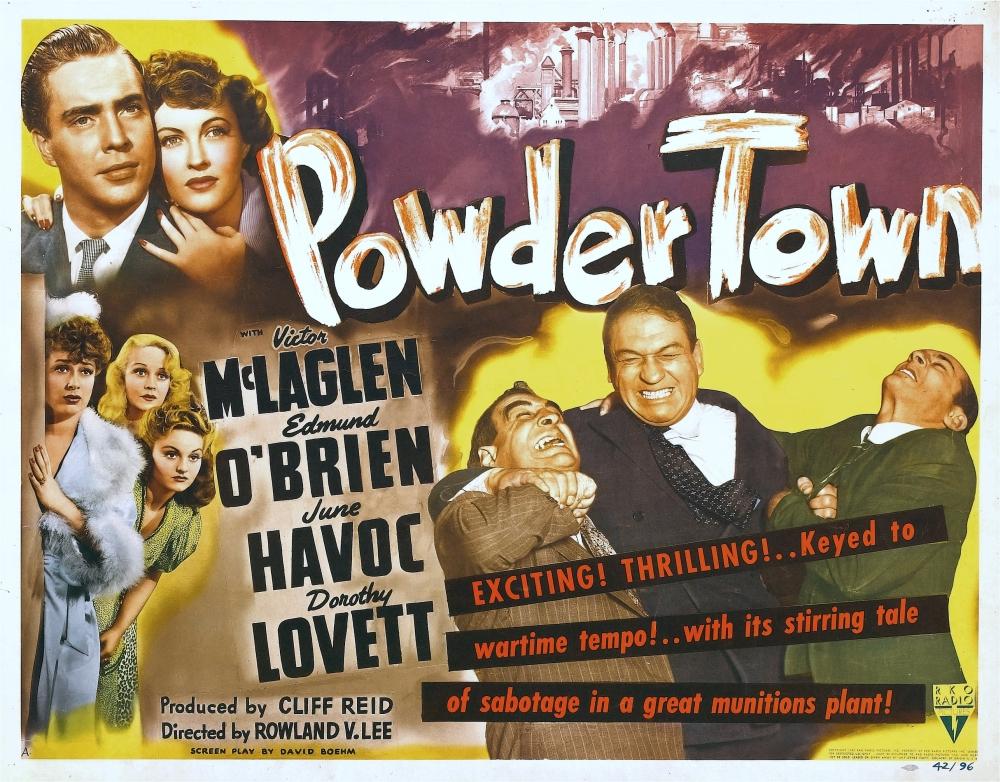 Risultati immagini per powder town film 1942