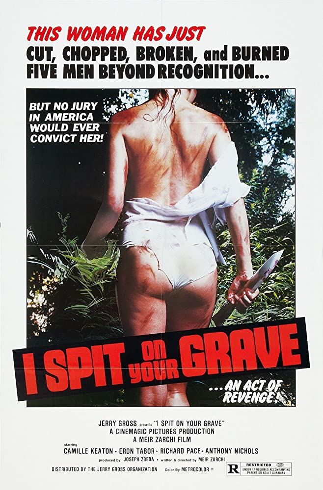 I Spit on Your Grave Directors Cut BluRay