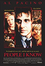 People I Know (2002) Poster - Movie Forum, Cast, Reviews