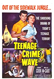 Teen-Age Crime Wave Poster