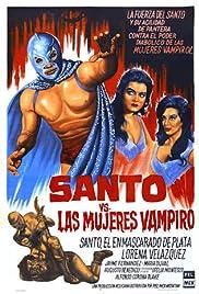 Santo vs. las mujeres vampiro Poster