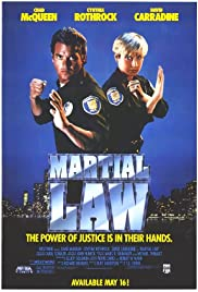 Martial Law (1990) Poster - Movie Forum, Cast, Reviews