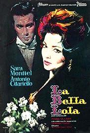 La bella Lola Poster