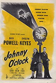 Johnny O'Clock Poster