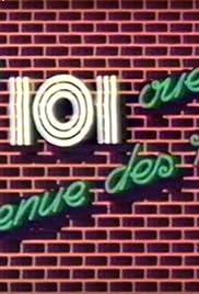 Le 101, ouest, avenue des Pins Poster