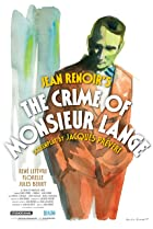 The Crime of Monsieur Lange (1936) Poster