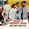 Mickey Rooney, Kevin McCarthy, and Jack Kelly in Drive a Crooked Road (1954)
