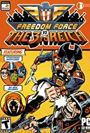 Freedom Force Vs the Third Reich Poster