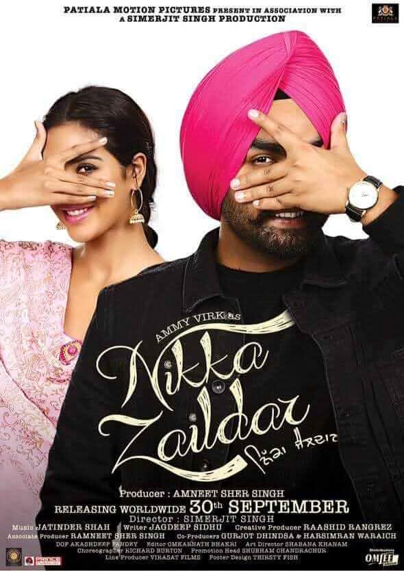 Nikka Zaildar 2016 Punjabi WEB HDRip 480p 450Mb
