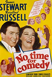 No Time for Comedy Poster