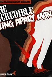 The Incredible Falling Apart Man Poster