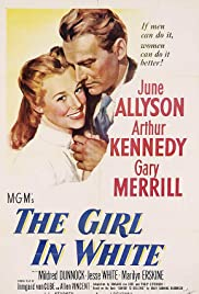 The Girl in White Poster