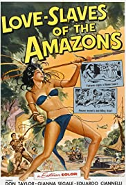 Love Slaves of the Amazons Poster