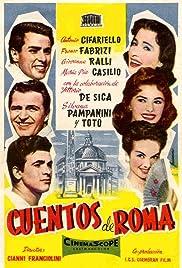 Racconti romani Poster