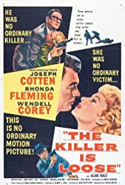 The Killer Is Loose (1956) Poster - Movie Forum, Cast, Reviews