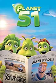 Life on Planet 51 Poster