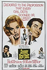 Sunday in New York (1963) Poster - Movie Forum, Cast, Reviews