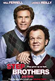 Step Brothers (2008) Unrated BRRip 720p 940MB Dual Audio ( Hindi – English ) MKV