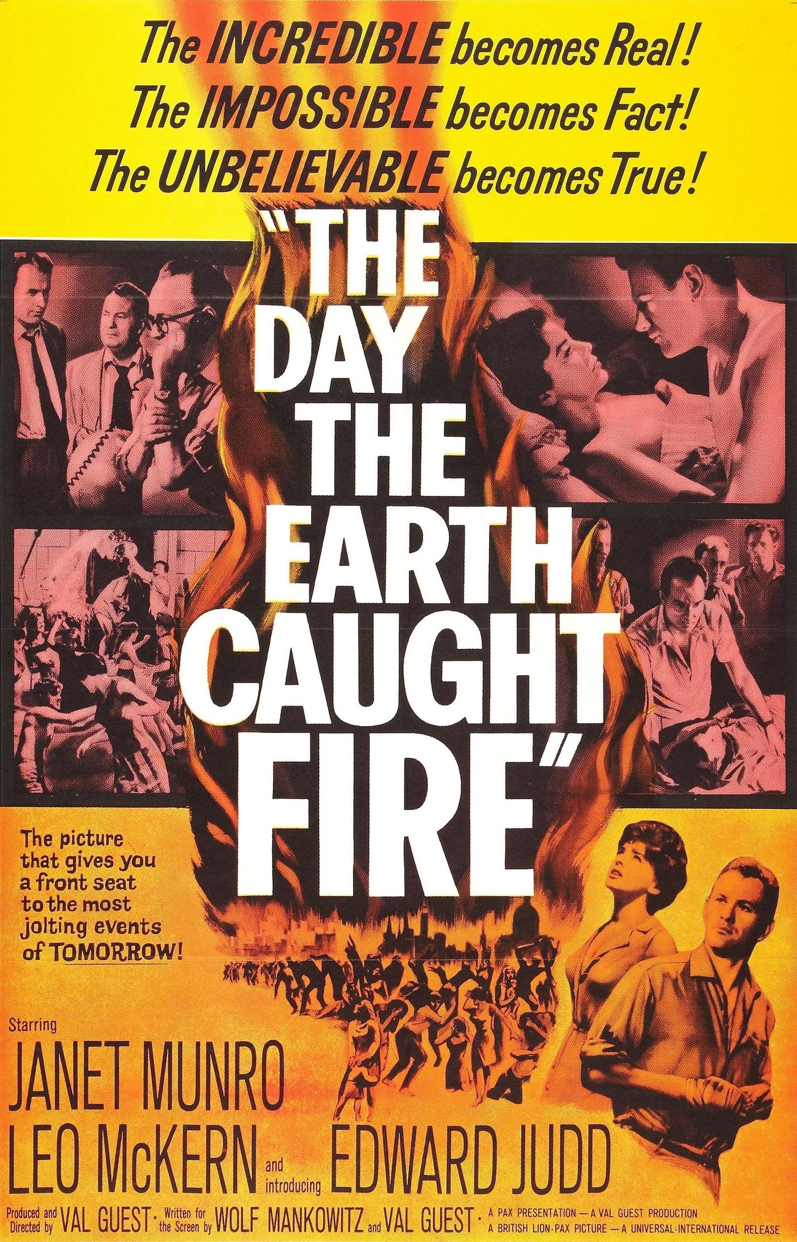 image The Day the Earth Caught Fire Watch Full Movie Free Online