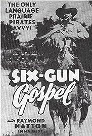 Six Gun Gospel Poster