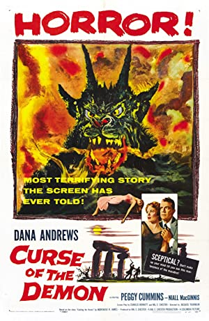 Curse of the Demon poster