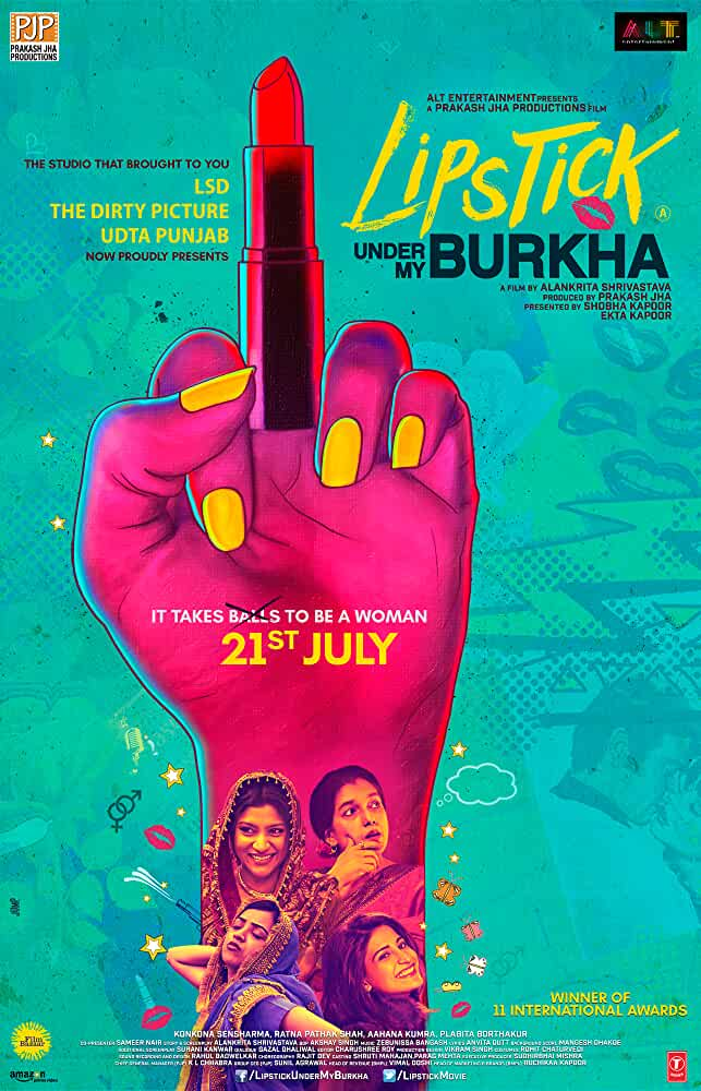 Poster Lipstick Under My Burkha (2016) Full HD Movie Download 720p