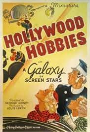 Hollywood Hobbies(1939) Poster - Movie Forum, Cast, Reviews