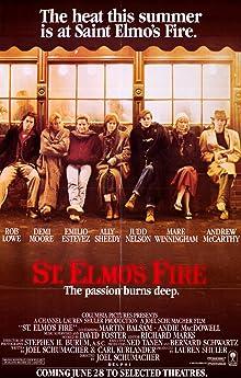 Poster St. Elmo's Fire - Die Leidenschaft brennt tief