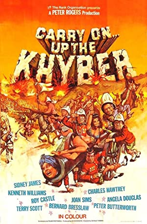 Carry On Up the Khyber poster