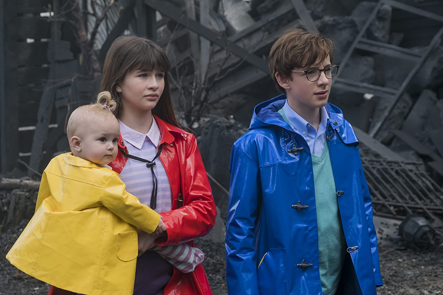 The Beaudelaire orphans A Series of Unfortunate Events